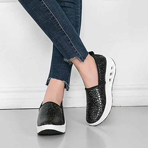 Shake Shoes Leisure Women For Clearance Sneakers Sneakers Fashion Platform Sport cushion Sale nbsp; Slip Air Shoes Black Women,Farjing q64P7