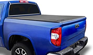 Amazon Com Tyger Auto T3 Soft Tri Fold Truck Bed Tonneau Cover For 2014 2020 Toyota Tundra Fleetside 6 5 Bed Tg Bc3t1433 Automotive
