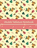 Ukulele Tablature Notebook: Ukulele Blank Sheet Music For Composition and Songwriting Ukulele ,Notebook Paper for Composing Music, Ukulele Tab ... Tab Sheet Music,Ukulele Manuscript paper