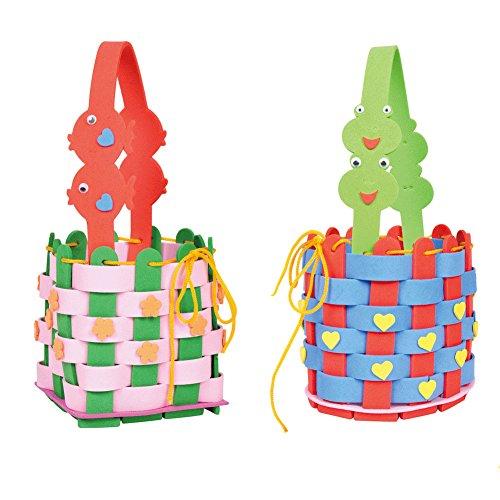 2 Packs Girls Crafts Foam Baskets Thanksgiving Crafts for Kids