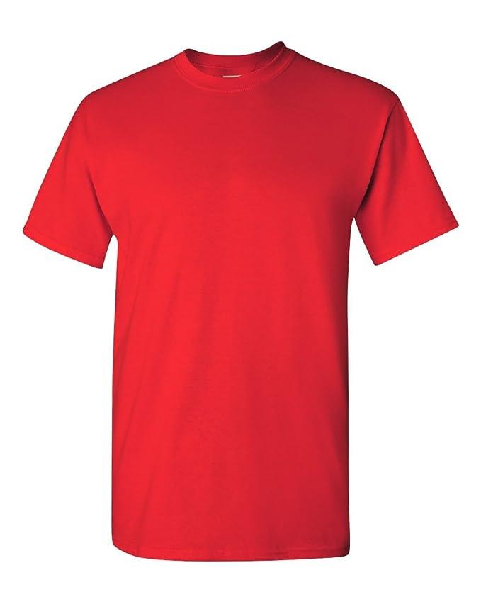 Gildan - Camiseta básica de manga corta Modelo Heavy Cotton para hombre - 100% algodón gordo: Amazon.es: Ropa y accesorios