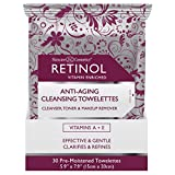 Product review for Skincare Retinol Anti-Aging Cleansing Towelettes 30 Count (2 Pack)