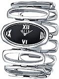 ELLE Time W20002B02C Radian Women's Black Dial Stainless Steel Bracelet Wrist Watches