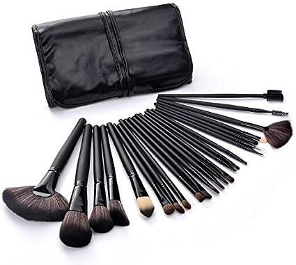 Caliente! Juego de herramientas de maquillaje con estuche profesional para 24 brochas: Amazon.es: Instrumentos musicales