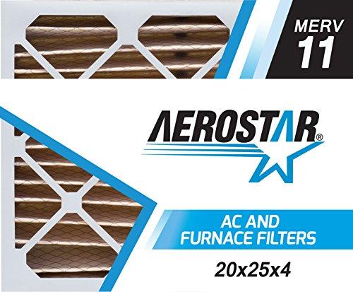 Aerostar 20x25x4 MERV Pleated Filter