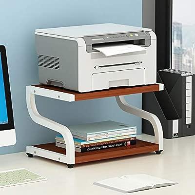 Soporte de escritorio de impresora, Estante de almacenamiento de ...