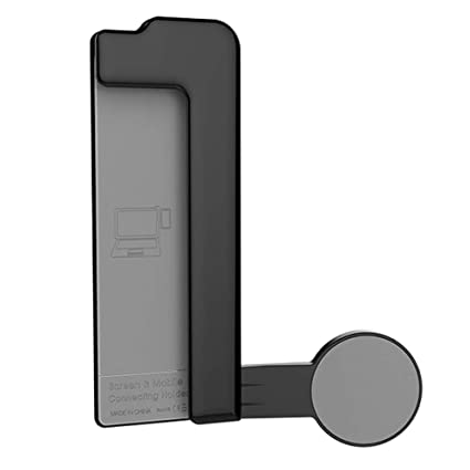 Xcivi Screen and Mobile Connecting Holder- Mount Your Mobile to Your Laptop  Screen- Dual Second Display for Your Notebook Computer (Black)
