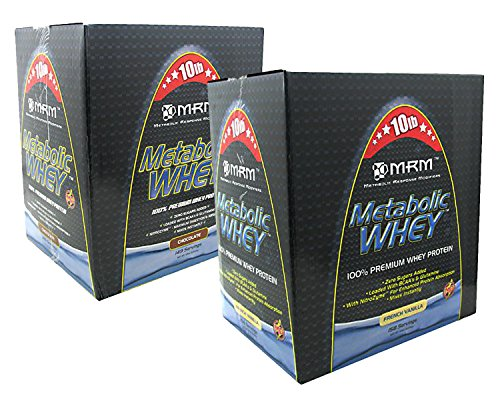 MRM Metabolic Whey Chocolate 10lbs/French Vanilla 10lbs (...