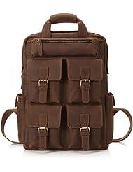 Best Mens Briefcase Italian Genuine Leather,Shoulder Computer/Laptop Bag for men