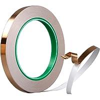 Foraco Kopertape, koperfolie tape met dubbel geleidende lijm, sterk hechtende koperen plaat EMI-afschermingstape voor…