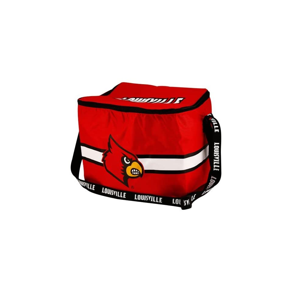 NCAA Louisville Cardinals Red Insulated 12 Pack Cooler