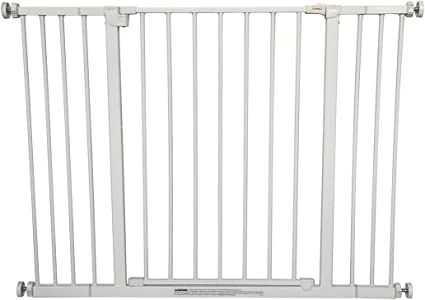 Extra Tall Easy Install Child Safety Gate For  Baby Pet Portable Safety Lock