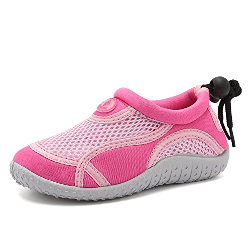 Image of Fanture Toddlers Water Shoes Aqua Socks Athletic Swim Pool Beach Sports Quick Drying for Baby Boys and Girls Kids