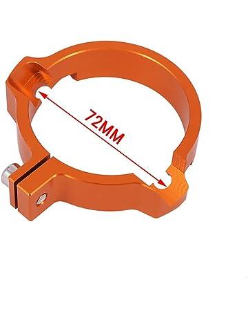 JFG RACING Abrazadera de tubo de escape CNC de 72 mm para 2017-2018 SX250