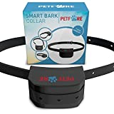 Bark Solution Bark Dog Collar Training System, Electric No Bark Shock Control with 7 Adjustable Sensitivity Control with Manual