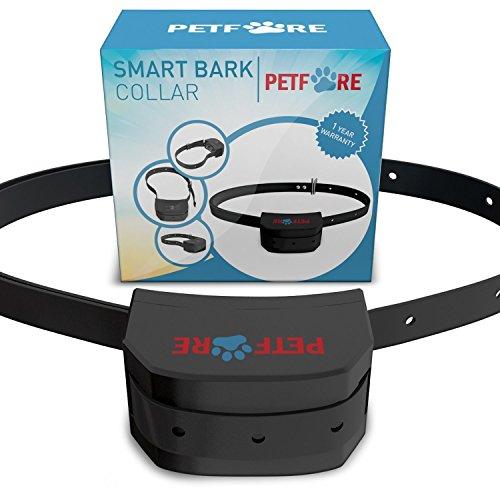 517Nl83uFsL - Bark Solution The Original Dog Collar Training System, Electric No Bark Shock Control with 7 Adjustable Sensitivity & Manual