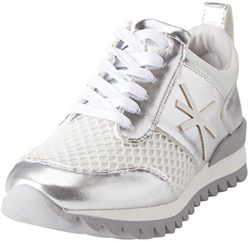 arge Mujer 111616926lmarge Plateado Primadonna Sneakers Zapatillas Para HOXwxf16q