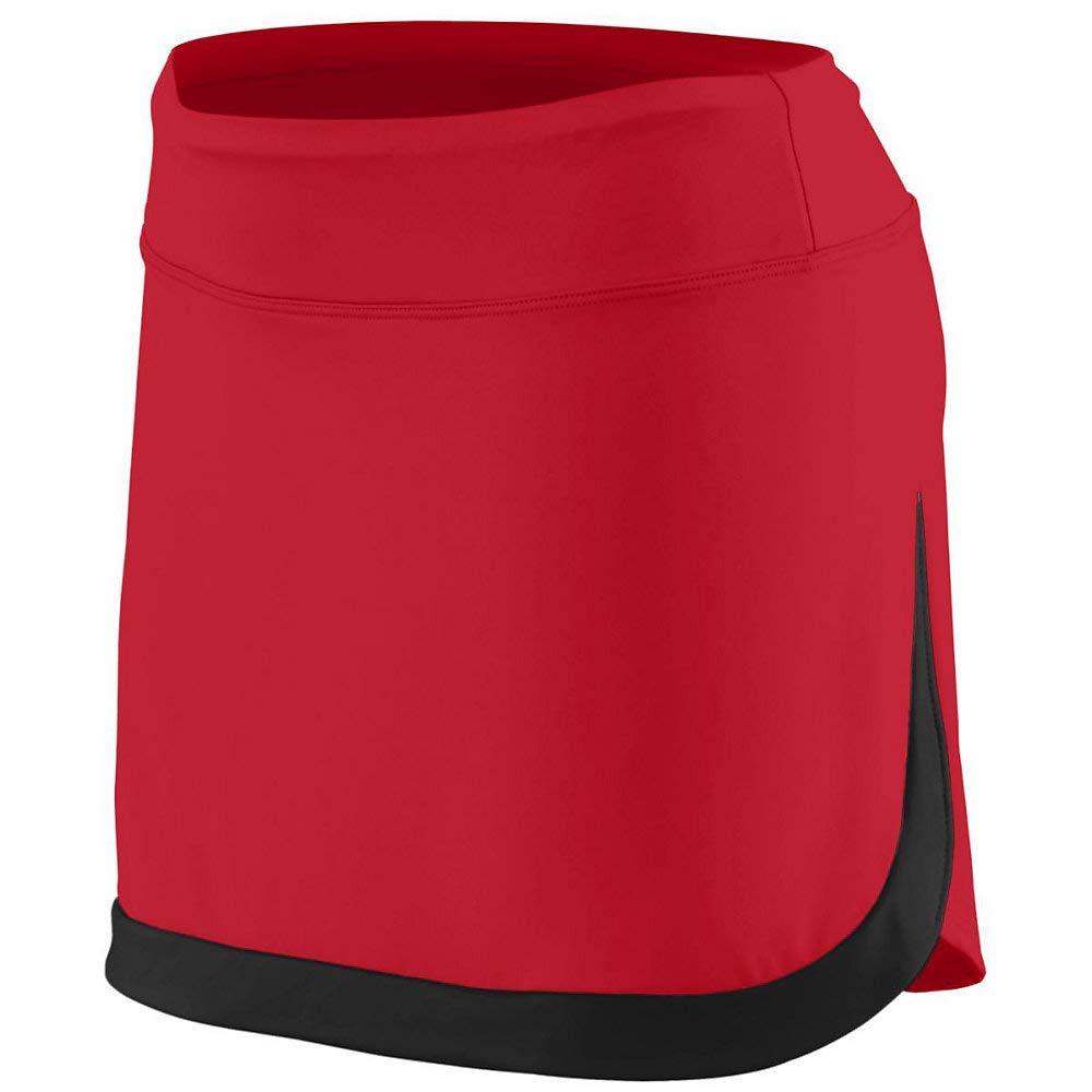 Augusta Sports Girls Large Red/Black Skort by Augusta Sports