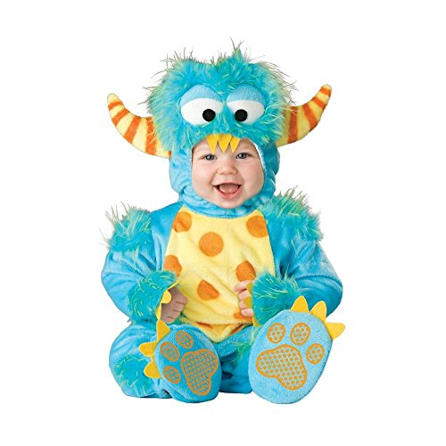 Lil' Monster Baby Infant Costume - Infant (Lil Monster Baby Halloween Costume)