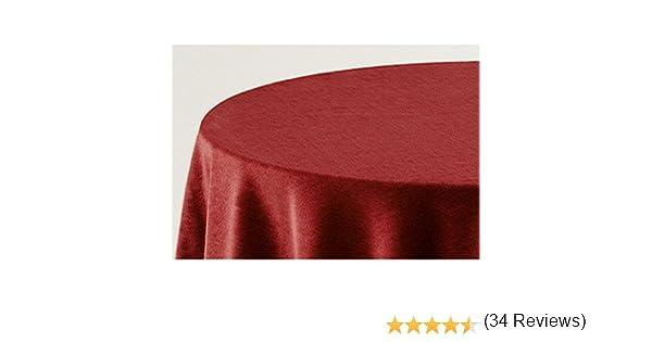 Falda para Mesa Camilla Modelo Deluxe 793, Color Granate 706 ...