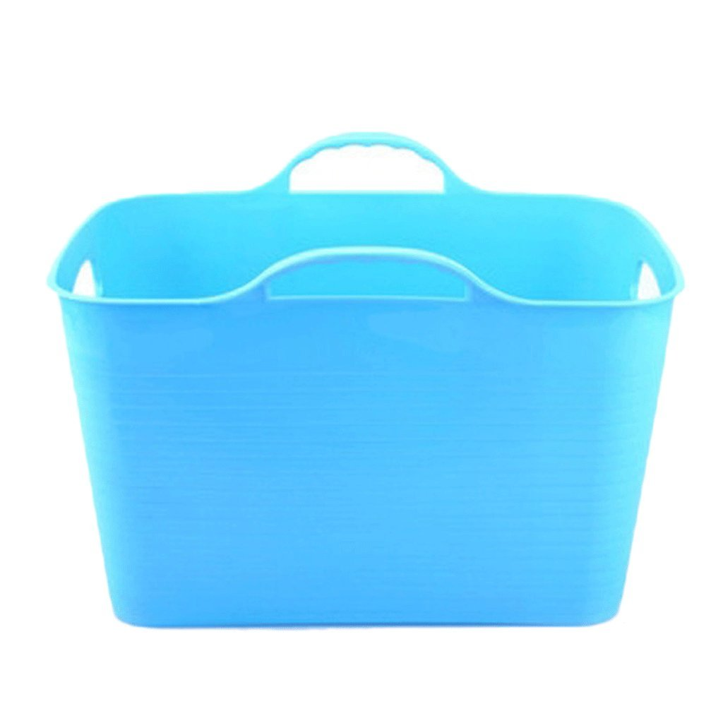 bluee YC electronics Pet Dog Tub, Foldable Cat Tub, Pool Bath, 46  31  27cm (color   bluee)
