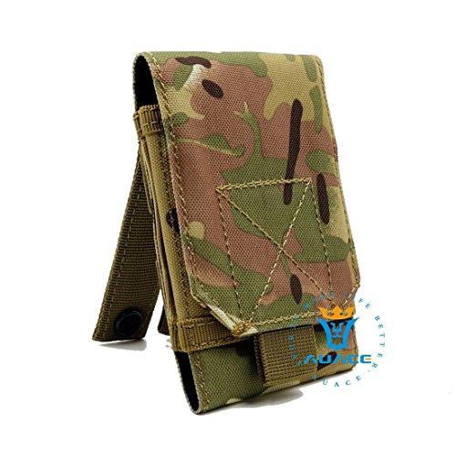 Multifunktions Survival Gear Tactical Beutel MOLLE Beutel Handytasche, Outdoor Camping Tragbare Tasche Handtaschen Taille Tasche Werkzeugtasche Travel Handytasche CP
