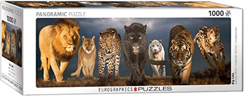 EuroGraphics Big Cats Puzzle (1000 Piece)
