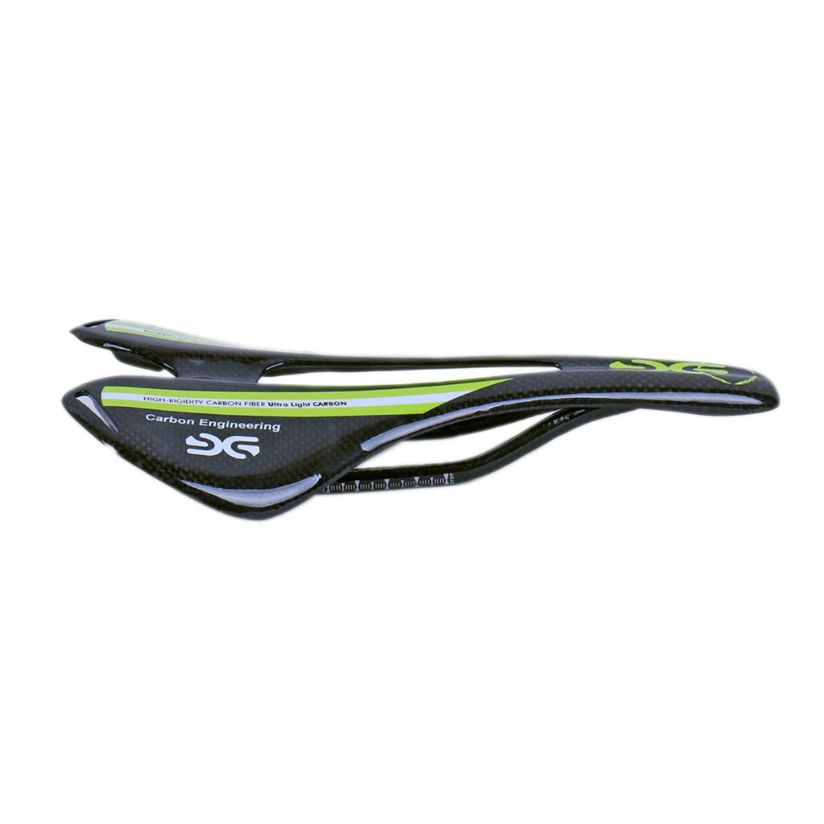 Full Carbon Fiber Saddle 3K Gloss Road Mountain Bike Seat Super Lightweight 105g