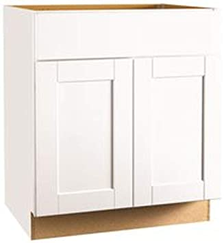 Buy Continental Cabinets Kitchen Cabinets 2487085 Rsi Home Products Andover Shaker Sink Base Cabinet White 30 Online At Low Prices In India Amazon In