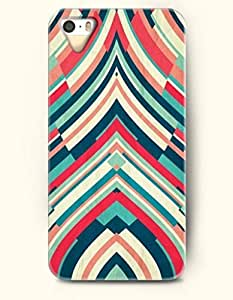 SevenArc Phone Cover Apple iPhone case for iPhone 4 4s -- Multi-Colored Geometric Pattern