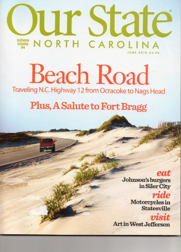 Our State Down Home in NORTH CAROLINA, June 2010, Volume, used for sale  Delivered anywhere in USA