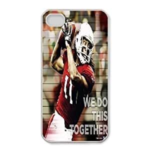 iphone4 4s Phone Case White Arizona Cardinals IH4481579