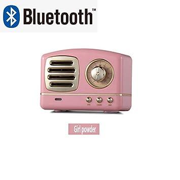 DXIA Radio Portátil Altavoces Bluetooth, Altavoz Bluetooth ...