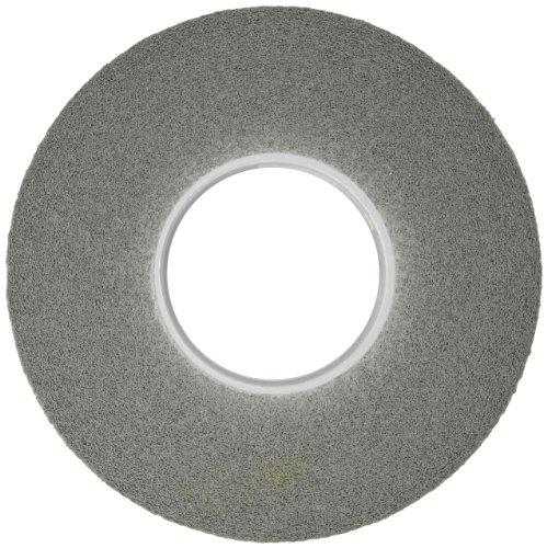 Scotch-Brite(TM) Light Deburring Wheel, Silicon Carbide, 3000 rpm, 12 Diameter x 2 Width, 5 Arbor, 6S Fine Grit (Pack of 1) by Scotch-Brite