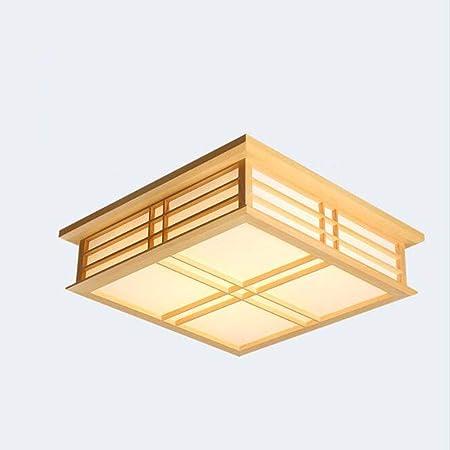 YMJ Einfache Japanischen Stil Tatami Lampen Holz Kleine Wohnzimmer Lampe  Studie Lampe Schlafzimmer Lampe Führte Massivholz