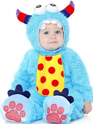 Costumes Little Monster Madness Toddler - Blue-Toddler
