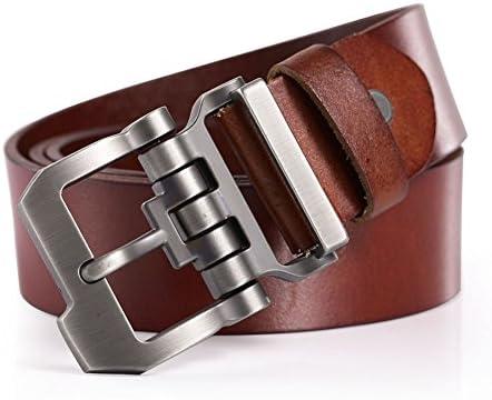 Teemzone diseño de Hebilla Rueda Dentada con Cinturón Piel de ...