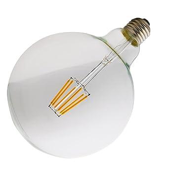 LED Glühbirne Groß G125 6W E27 Warmweiß