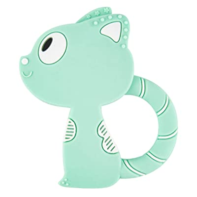 Ladaidra Maternal and Child Supplies Baby Teether New Animal Fox Shape Comfort Teething Infants Molars Anti-eat Hand Bite Chew Products: Toys & Games