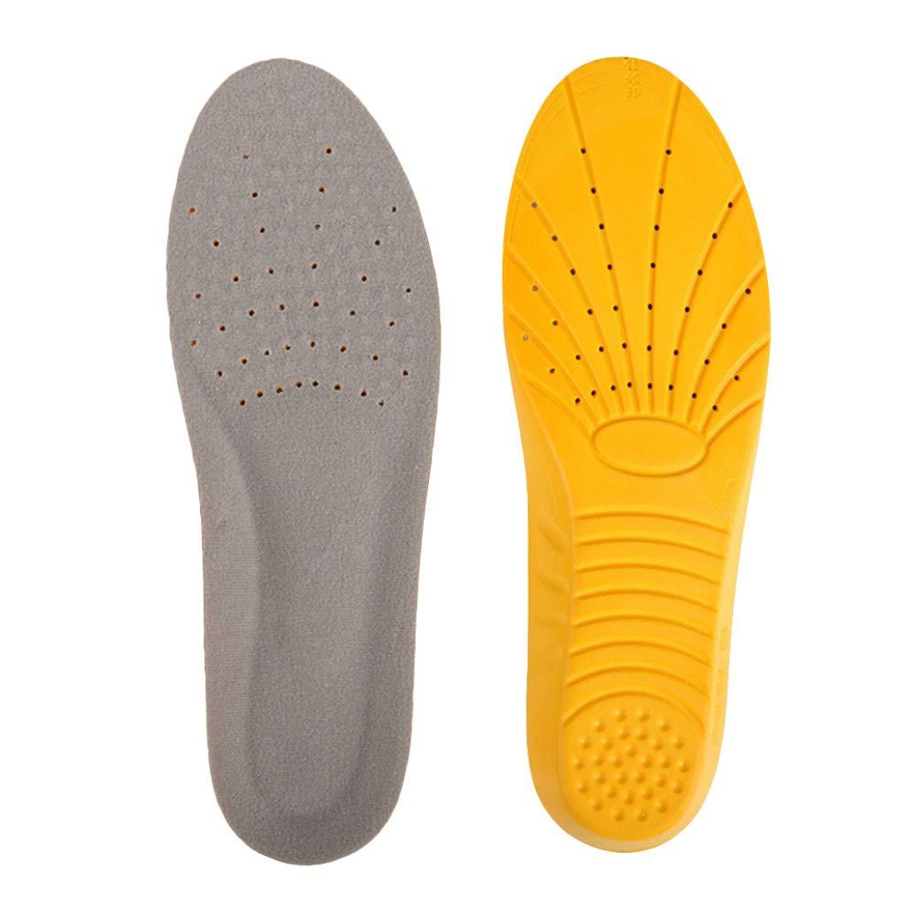 Memory Foam Unisex Orthopaedic Shoe Insoles Pad Trainer Feet Heel