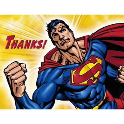 Superman Returns Thank You Notes - 8