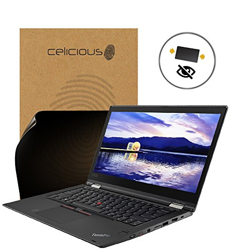 Celicious Privacy 2-Way Anti-Spy Filter Screen Protector Film Compatible with Lenovo ThinkPad X380 Yoga from Celicious