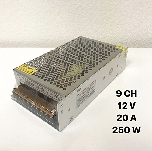 Yes-Original Power Supply for CCTV Security Camera 9CH 12V 20A 250W
