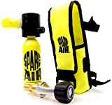 New 1.7CF Spare Air Package for Scuba Divers with Fill Adapter, Holster & Leash