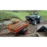 MotoAlliance Impact ATV/UTV Heavy Duty Utility Cart Cargo Trailer 1500lb Capacity 15