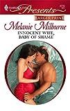 Innocent Wife, Baby of Shame, Melanie Milburne, 037323483X