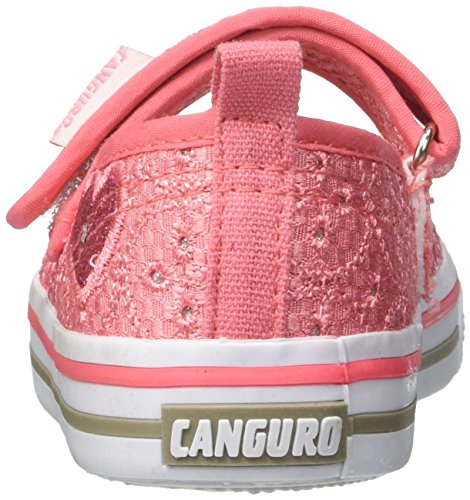 CANGURO Mädchen C58167g/Az Slip On Rosa (Pesca Pizzo)