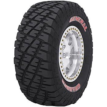 Amazoncom general tire grabber mt all terrain radial for 31 general grabber red letter