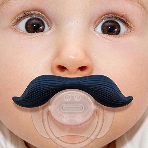 EJY Kreative Schnurrbart Baby-Schnuller, Schnuller Baby Schnuller,Beißringe