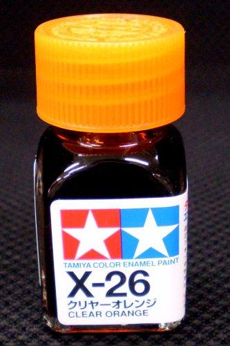 エナメル X-26 クリヤーオレンジ